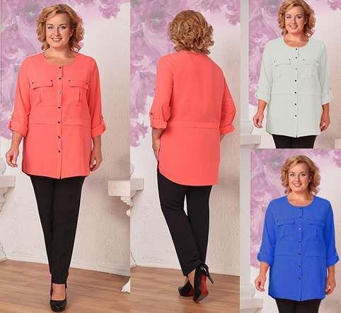 69610f106aa Коллекция женской одежды больших размеров белорусской компании Орхидея  Люкс