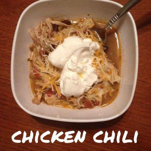 chicken chili Wino Wellness: Recipes