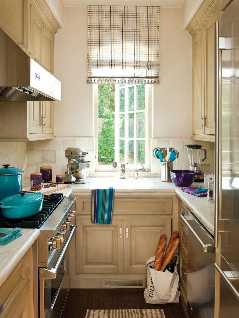 Cocinas pequeñas 50 ideas que impresionan | Kitchen / Cocina ...