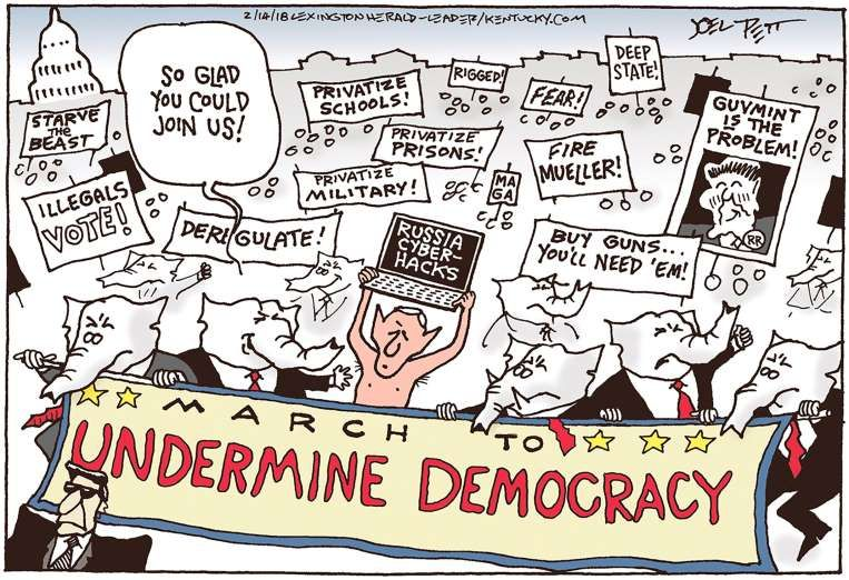 The News In Cartoons Joel Pett Lexington Herald Leader Kentucky