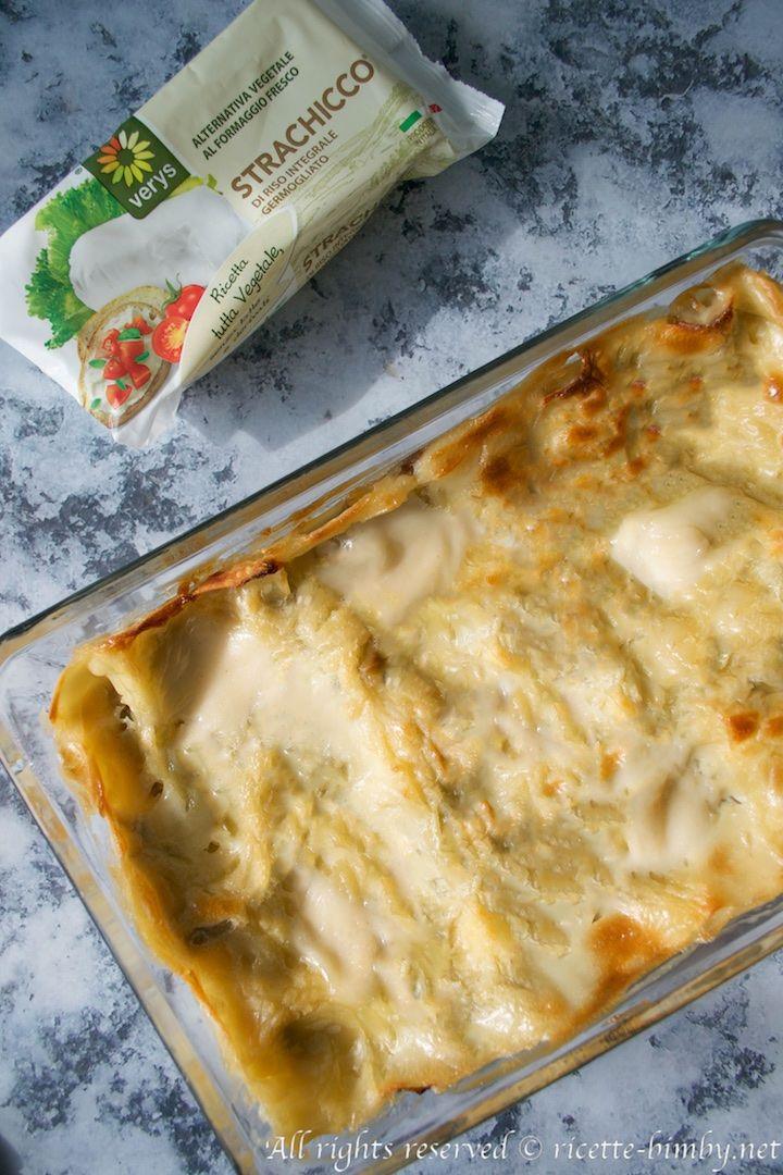 Lasagne porri e radicchio bimby