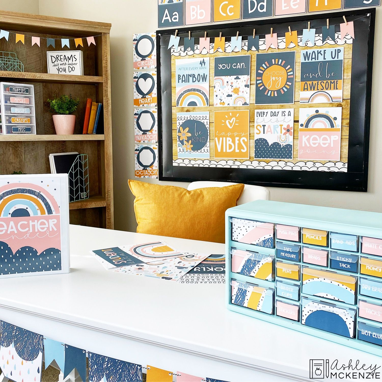 Boho Rainbow Classroom Theme