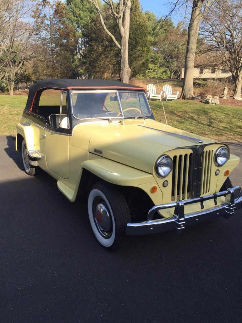 1949 willys jeepster convertible for sale 1834349 hemmings motor news cars i like pinterest jeep willys classifieds cars and jeeps