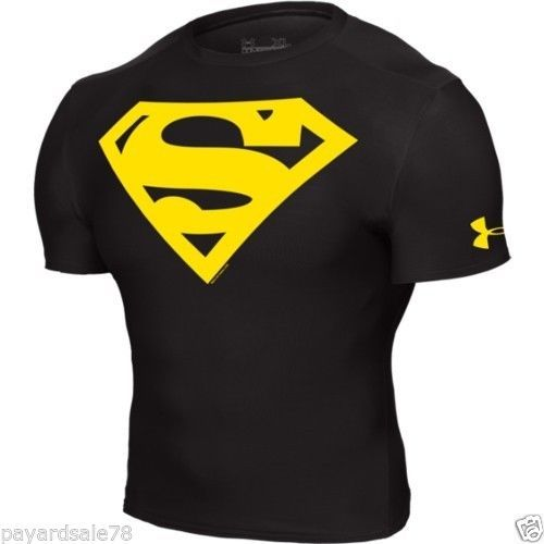Under Armour® Alter Ego Superman Compression Shirt all size Free Shipping