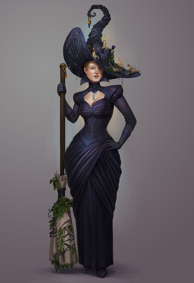 Petra ioffe the supreme witch by sedeptra coolstuff pinterest