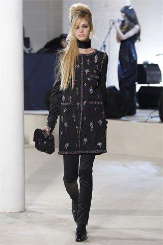 Chanel Pre-Fall 2008 Fashion Show - Erin Heatherton