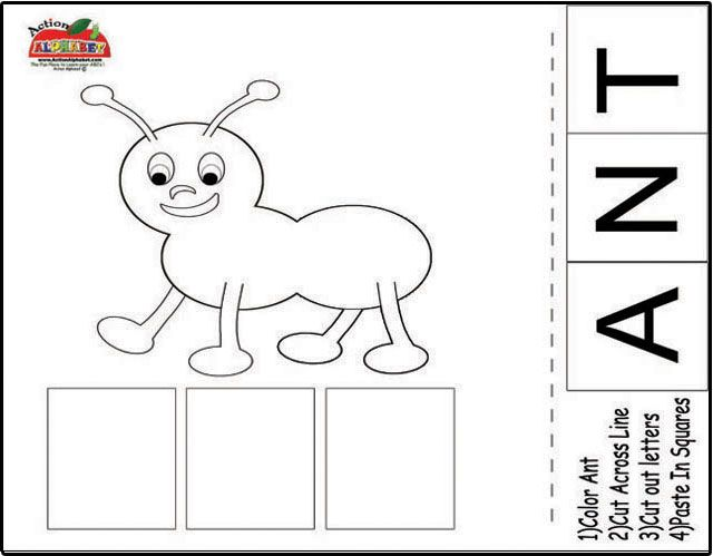 Anat Martkovich Cut And Paste Crafthubs computer – Cut and Paste Worksheets for Preschoolers