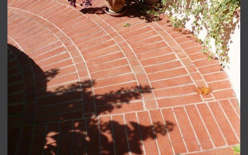 Rosace de briquette CARRELAGE TERRASSE Pinterest Photo galleries