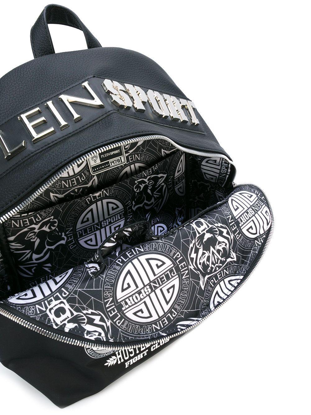 Plein Sport printed backpack