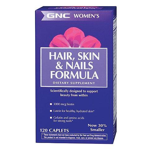 Gnc Women S Hair Skin Nails Tab 90 Formulagnc