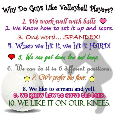 Reasons To Date A Volleyball Player Volleyball Quotes Funny Volleyball Quotes Volleyball