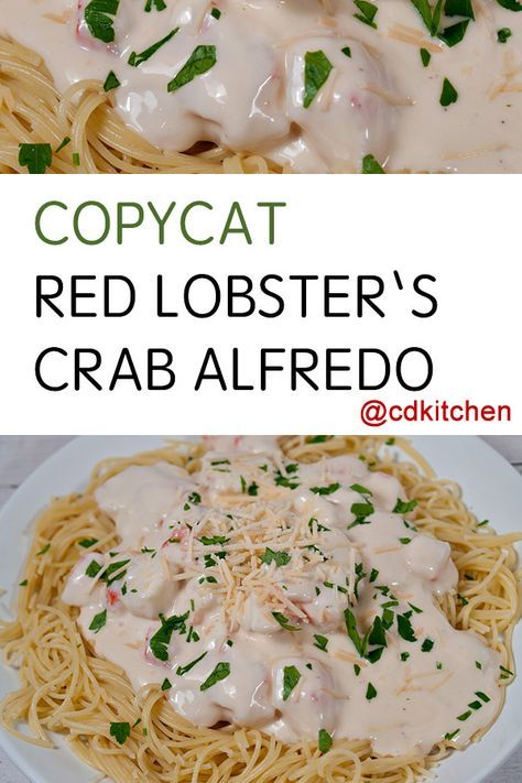 Red Lobster Alfredo Sauce Recipe