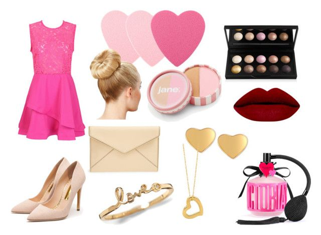 """""""Valentine's Day date!"""" by chiclifewstyle on Polyvore featuring Sephora Collection, Victoria's Secret, Rupert Sanderson, T Tahari, jane, Rebecca Minkoff, women's clothing, women, female and woman"""