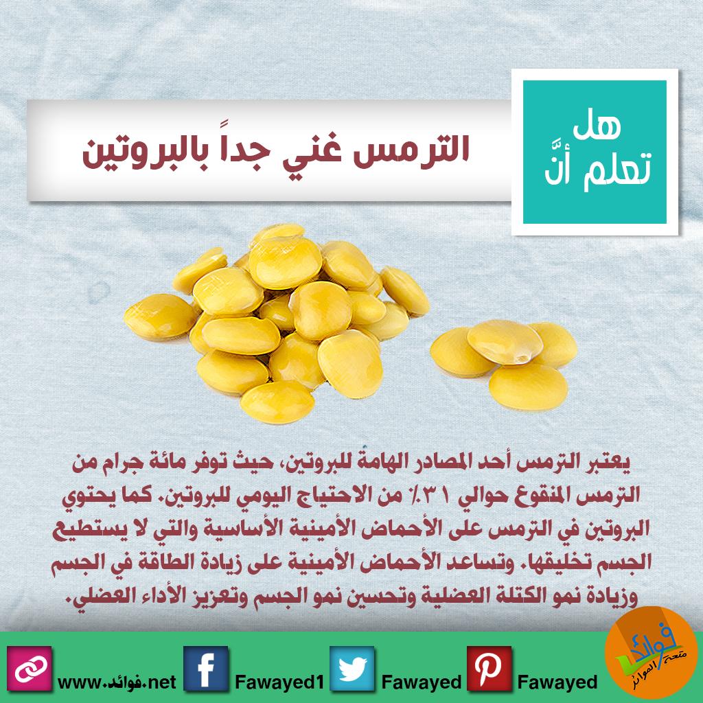 الترمس من أغنى مصادر البروتين التي تقوي العضلات وتزيد معدل النمو Conseils Alimentaires Sante Bien Etre Sante