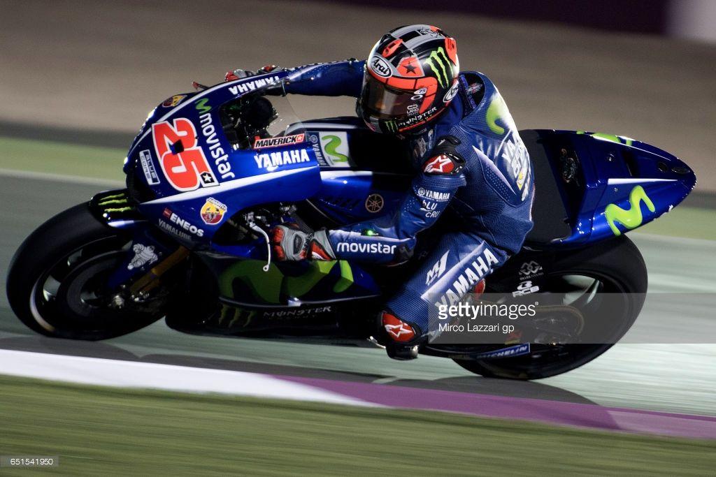 News Photo Maverick Vinales of Spain and Movistar Yamaha...