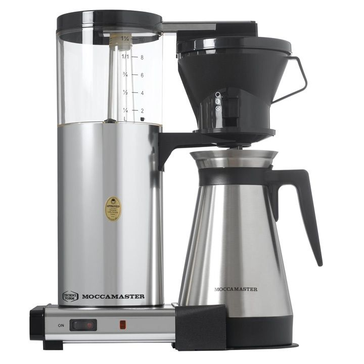 High Quality The Technivorm Moccamaster CDT Is One Of The Few Auto Drip Coffee Makers  Certified By The Specialty Coffee Associates Of America As Brewing At The  Optimal ... Pictures