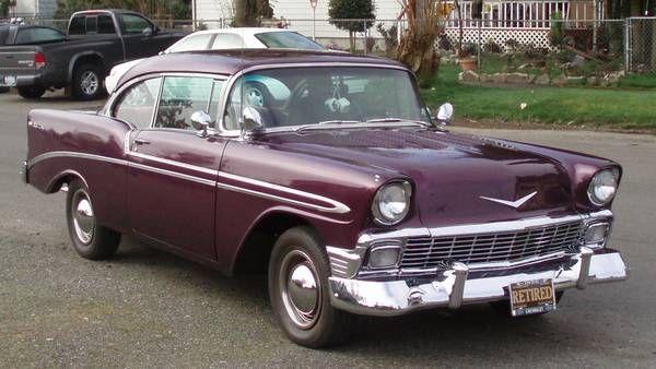 1956 Chevrolet Bel Air 2 Door Hardtop Maintenance Restoration Of