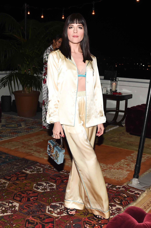 e800a76251 Inside Dolce   Gabbana s Pajama Party With Emily Ratajkowski