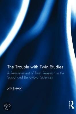 Joseph, Jay. The trouble with twin studies: a reassessment of twin research in the social and behavioral sciences. Plaats VESA 303.1 JOSE