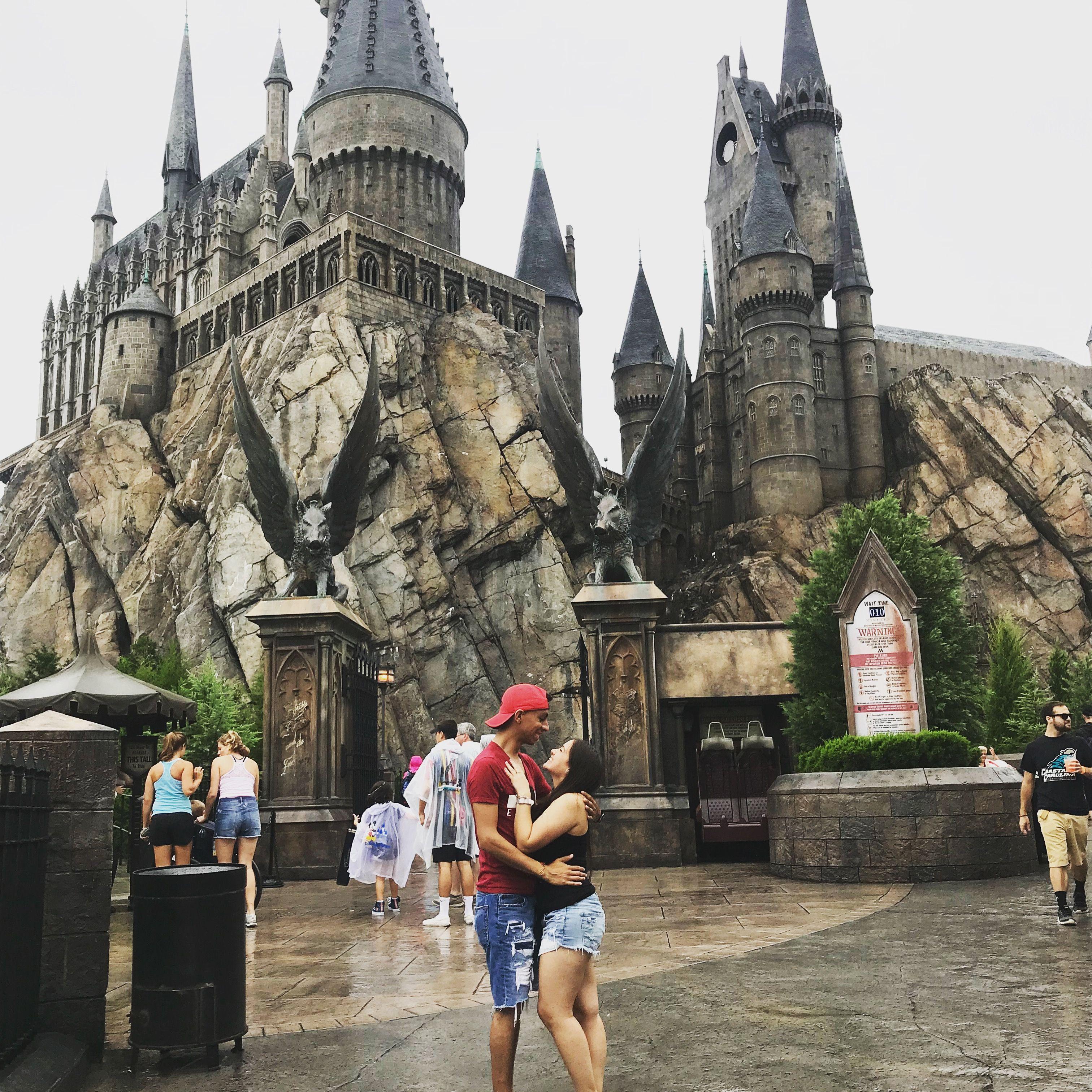 Castle Pic At Harry Potter Harry Potter Universal Studios Universal Studios Islands Of Adventure