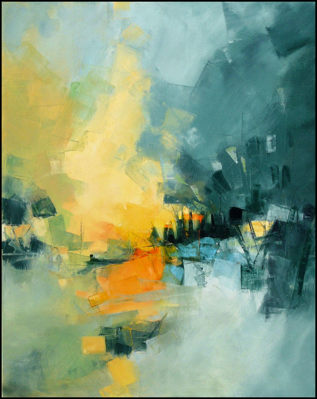 Amazing Abstract Art Paintings Gerard Mursic