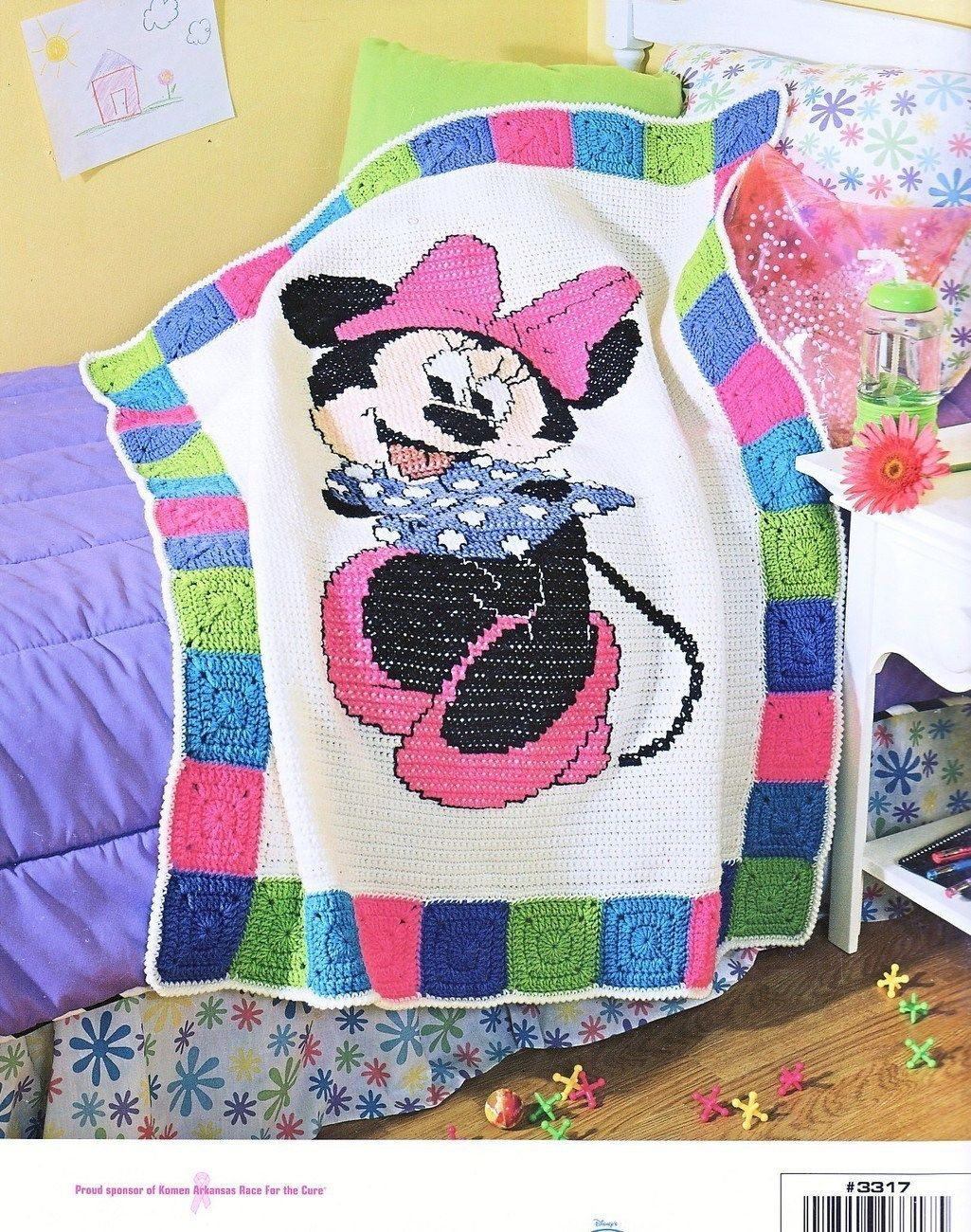 Minnie Mouse Crochet Afghan Patterns Mickey Amp Minnie