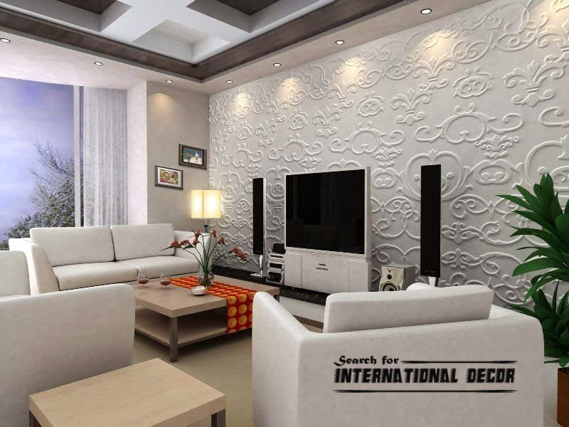Decorative Wall Tiles Living Room Decorative Wall Panels In The Interior Latest Trends  Interior