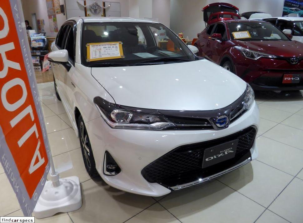 Toyota Corolla Corolla Axio Xi Facelift 2017 1 5 103 Hp 4wd Cvt I Petrol Gasoline 2017 Corolla Axio Xi Toyota Corolla Hybrid Car Toyota