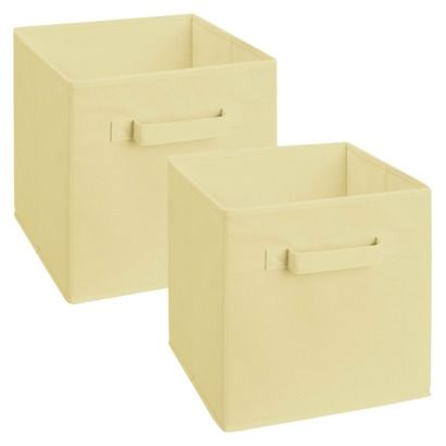 Closetmaid Cubeicals Fabric Drawers 2 Pack 10 5 Cubed 11 49 2 Pack Fabric Drawers