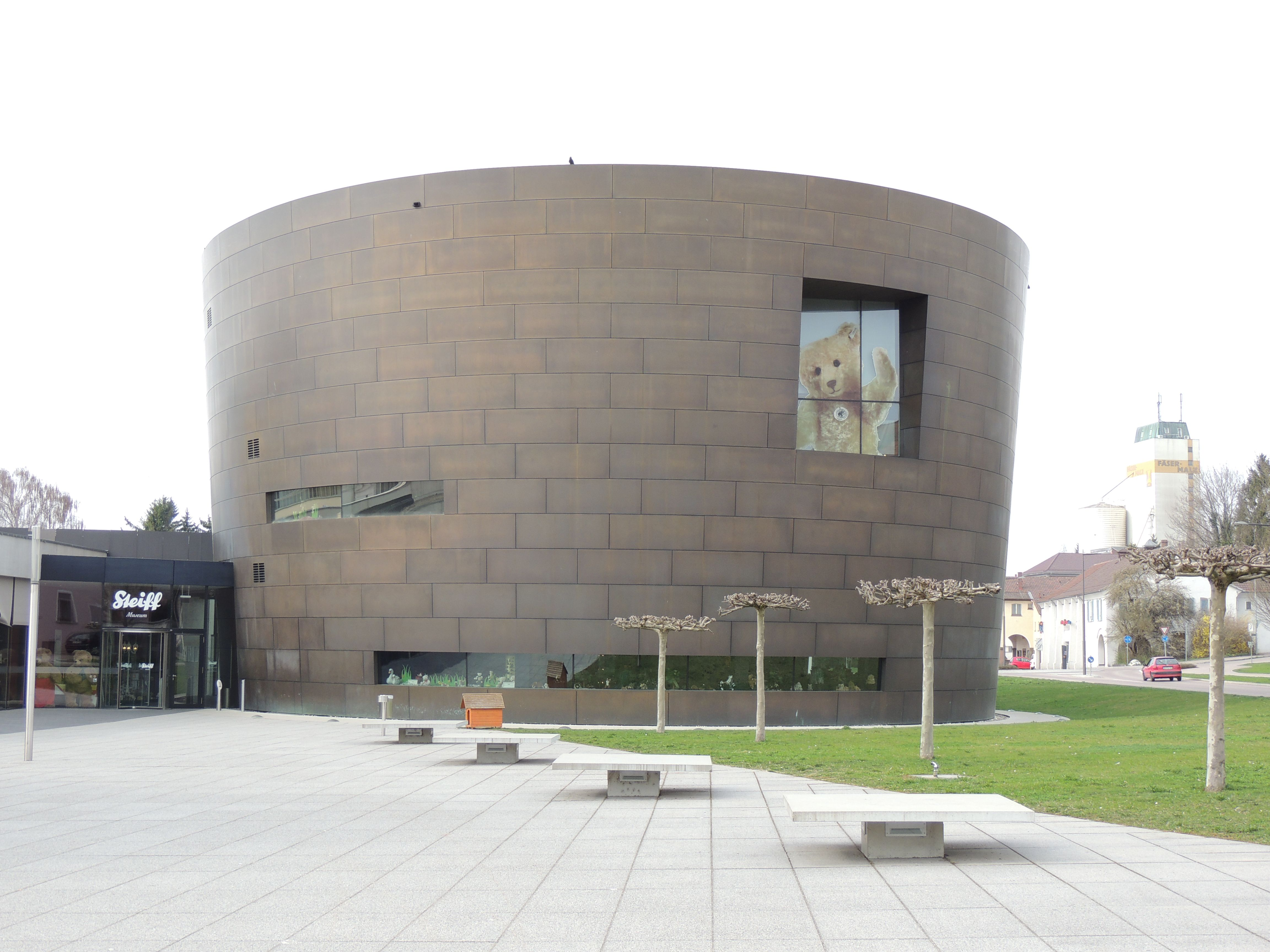 The Steiff Museum In Giengen An Der Brenz Germany Birthplace Of The Teddy Bear Steiff Patio Outdoor Decor