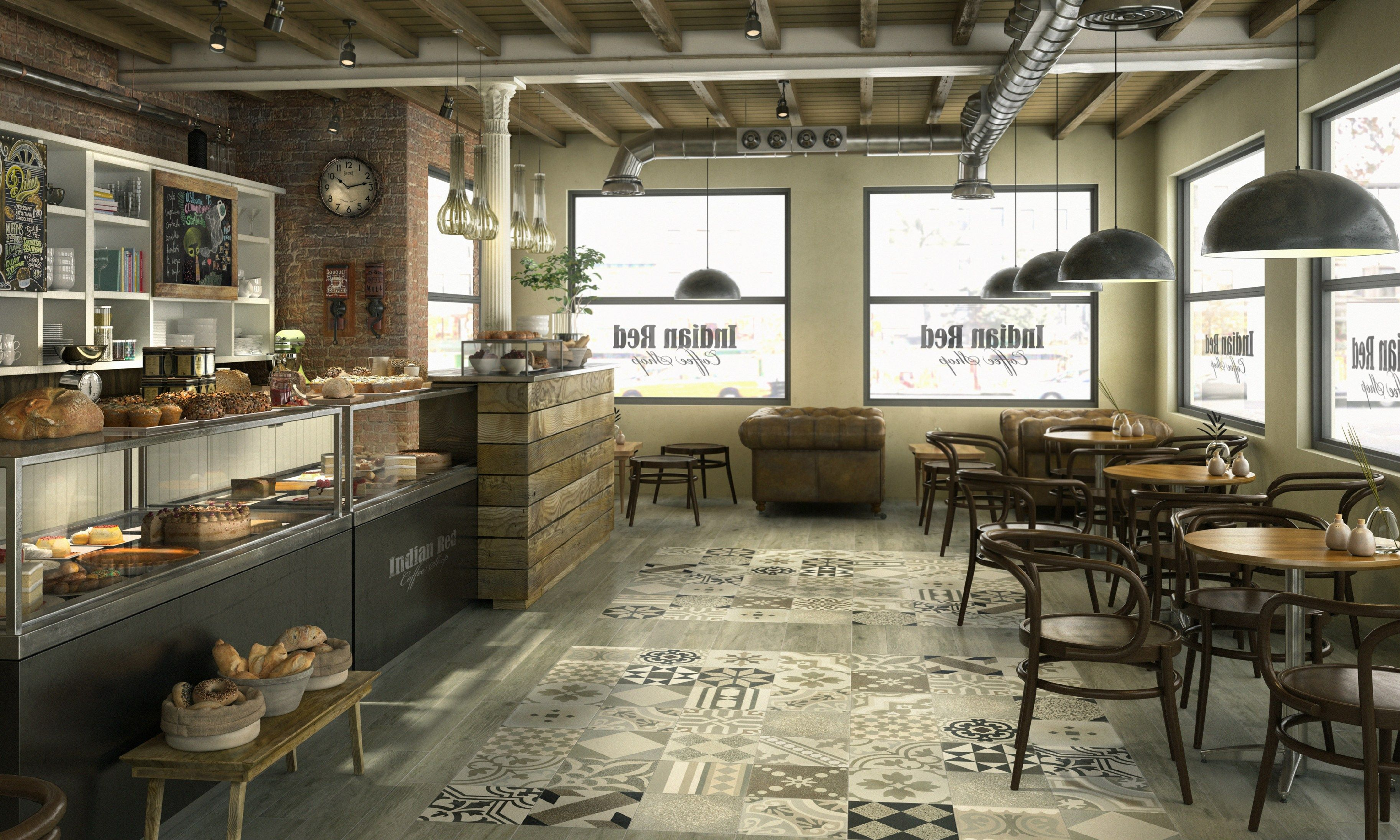porcelain floor tiles for indoors and outdoors cafÉ cement