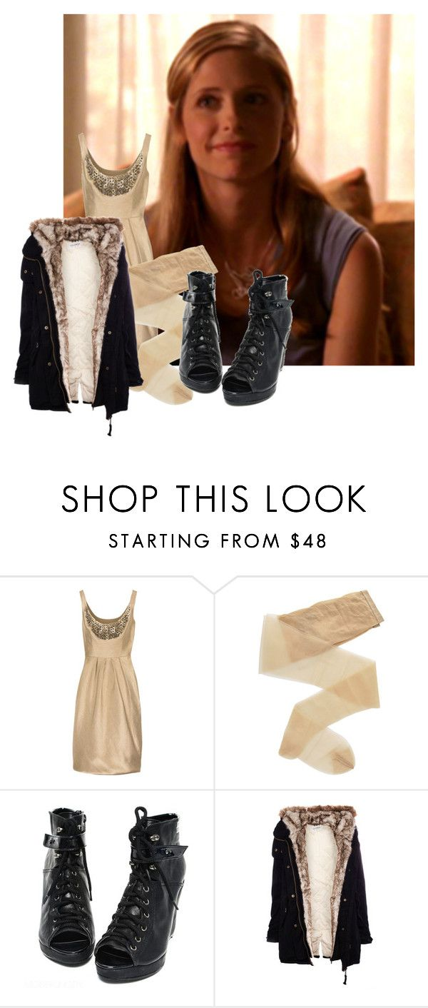 """""""YEAH WHATEVER GURL!!!!"""" by ofmonstersandmen1 ❤ liked on Polyvore featuring Lela Rose, Fogal and Pull&Bear"""