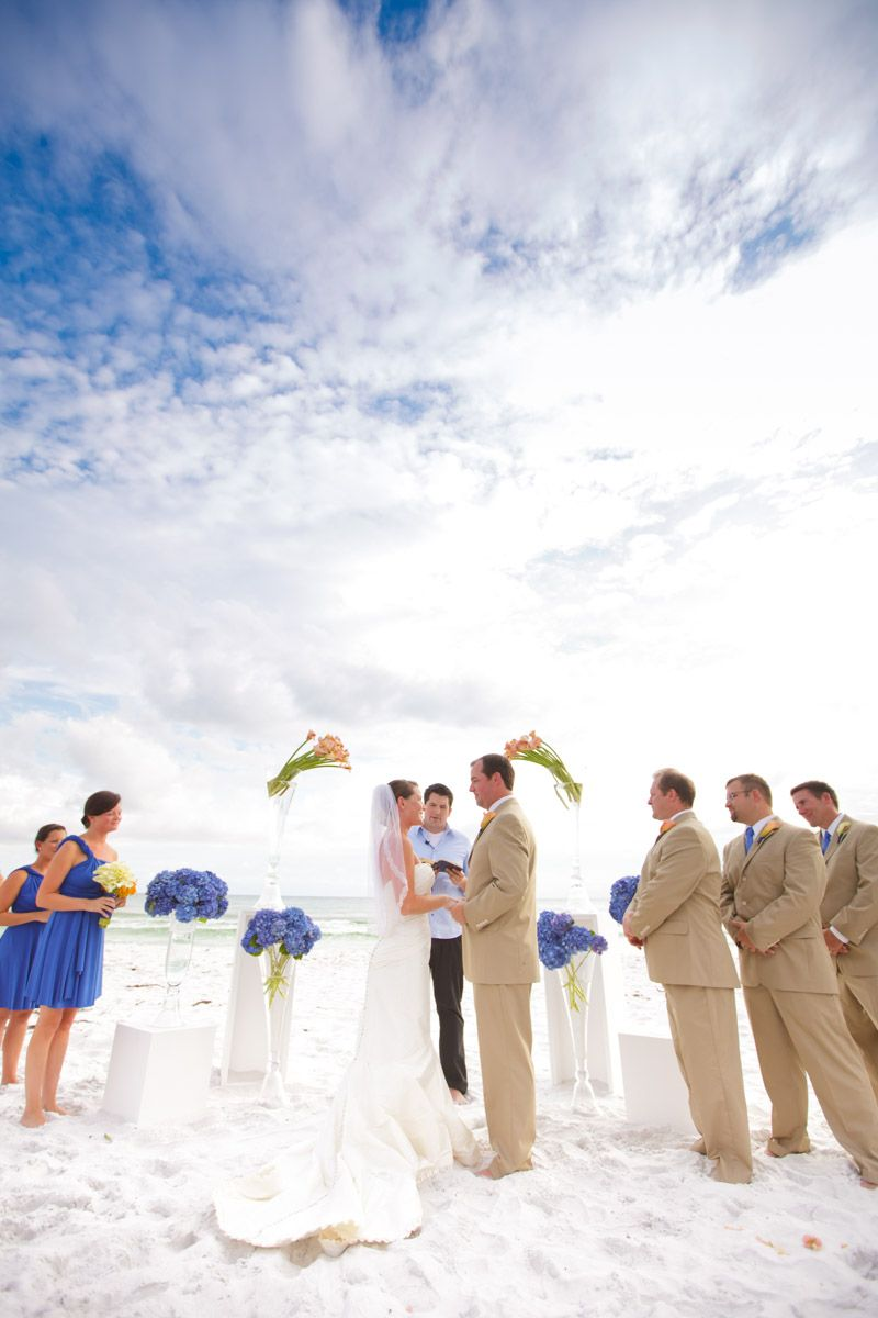 A Fall Destination Wedding At The Triple Crown In Seagrove Florida