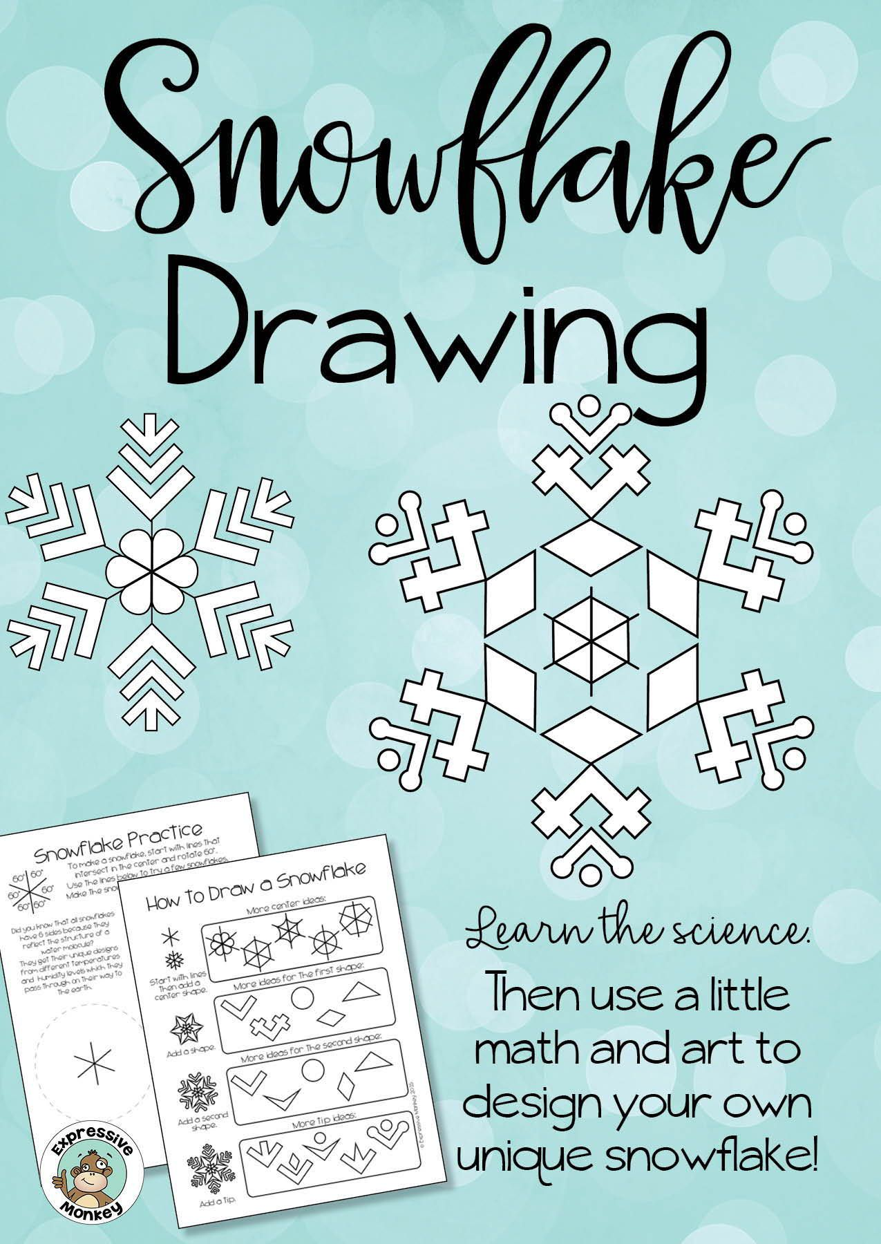Drawing Snowflakes Using The Science Art And Math Of Snow Crystals