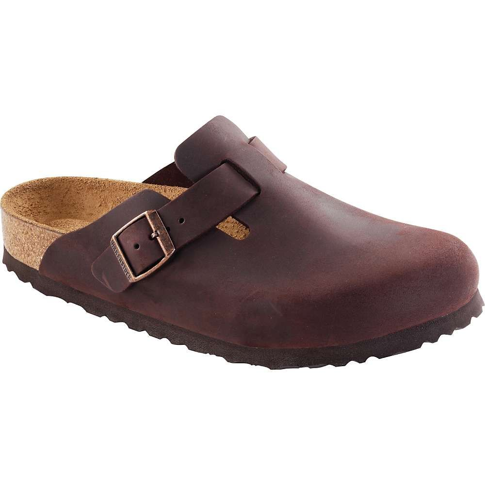 dfc3200ced8b04 Birkenstock Boston Soft Footbed Clog - 39 Narrow - Habana Oiled Leather