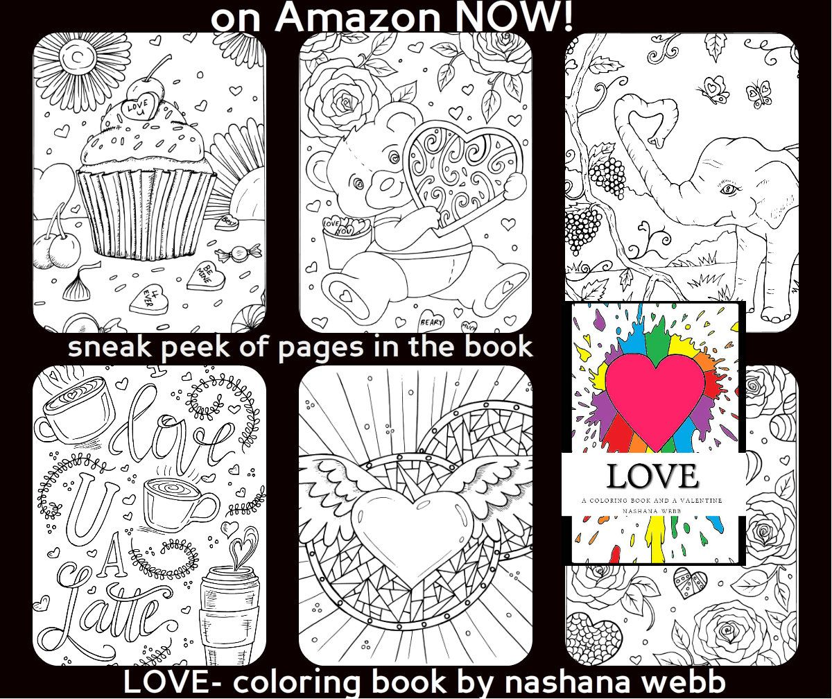 Pin By Nashana Webb On Color Thearpy Coloring Books Best Valentine S Day Gifts Valentine Day Gifts