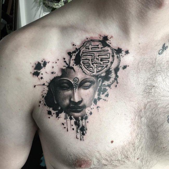 Front2 Buddhist Tattoo Buddha Tattoo Buddha Tattoos