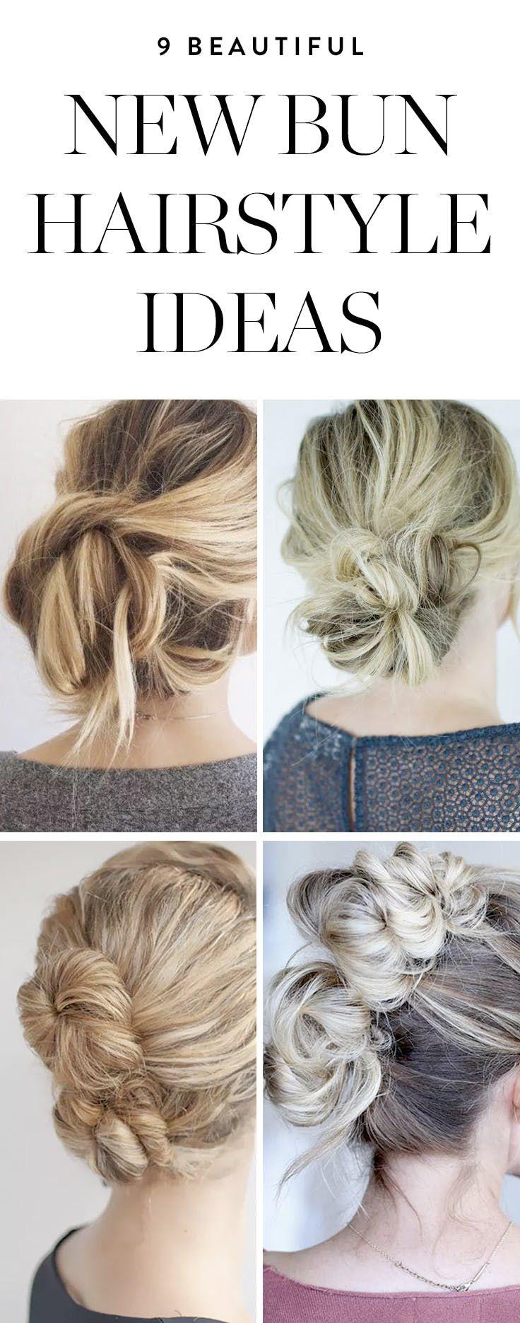 new bun hairstyles you havenut tried yet braided pinterest