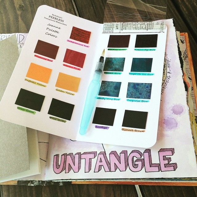 If you want to make art on the go...at the beach, a coffee shop, or on vacation, a Peerless Watercolor Travel Palette is a must!  I have three sizes available in my shop: Field Notes and Traveler's Notebook sizes with 15 colors and Sketchbook size with 55 colors!  belovedart etsy #biblejournaling #biblejournalingcommunity #illustratedfaith #midori #artsupplies #travelersnotebook #peerlesswatercolors #belovedartetsy