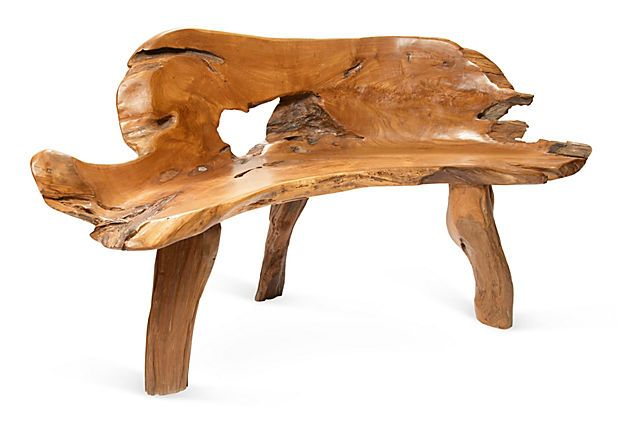 KAREN GRANNELL  Three-Leg Bench  -- AWESOME!!