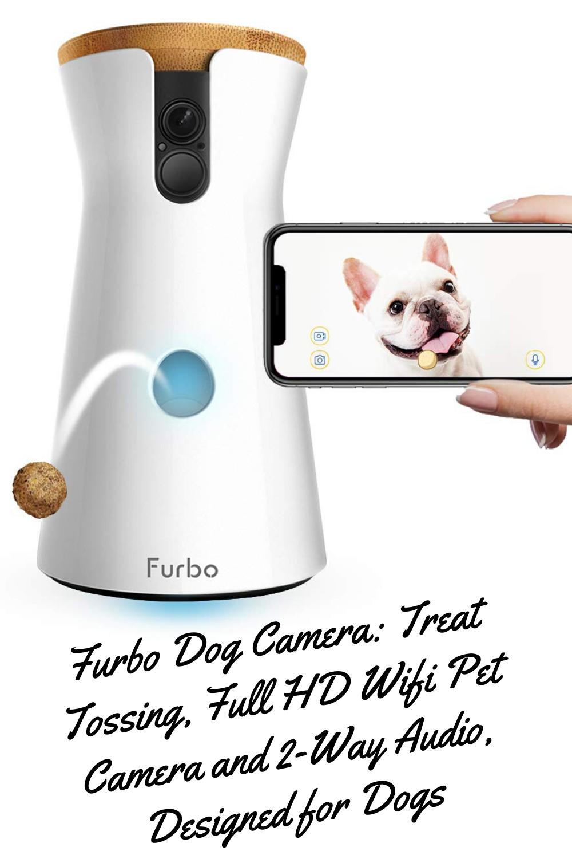 Furbo Dog Camera Treat Tossing Compatible With Alexa As Seen On Ellen In 2020 Pet Camera Cat Essentials Pets