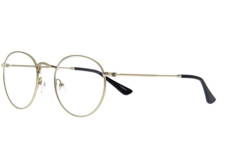 f9b4873f79 Gold Sepulveda Round Eyeglasses  1125214