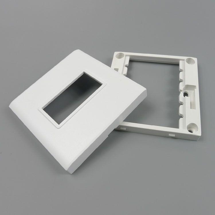 Materiales de construcción cambian socket placa de pared marco del ...