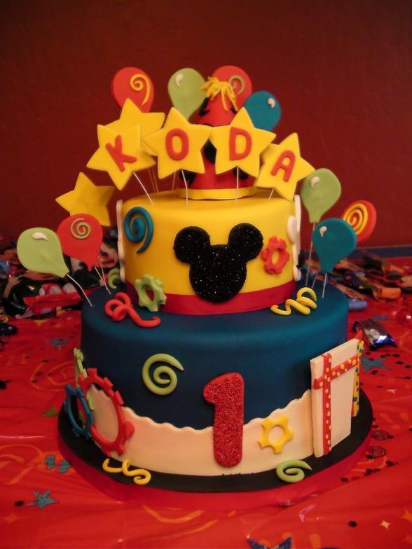 Fantastic Mickey Mouse Themed Birthday Cake My Little Cupcake Bakery Fresno Funny Birthday Cards Online Alyptdamsfinfo