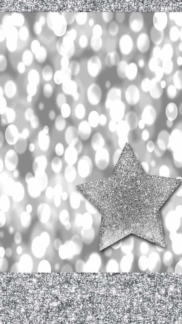 Iphone Wall Christmas Tjn Silver Sparkle Wallpaper Christmas Wallpaper Backgrounds Sparkle Wallpaper