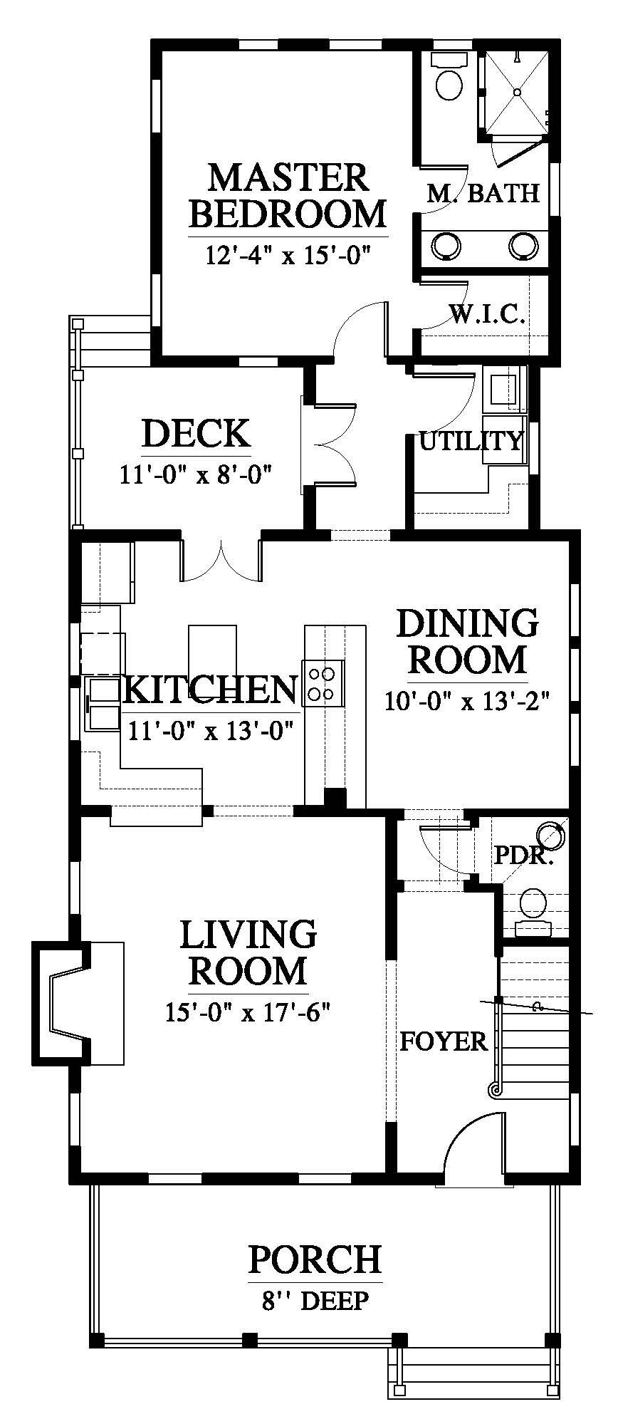 The Chechessee River Cottage House Plan C0345 Design From Allison Ramsey Architects One Floor House Plans House Plans One Level House Plans