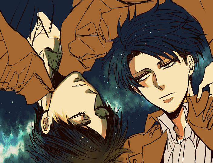 うとぅみ on Attack on titan levi, Ereri, Attack on titan