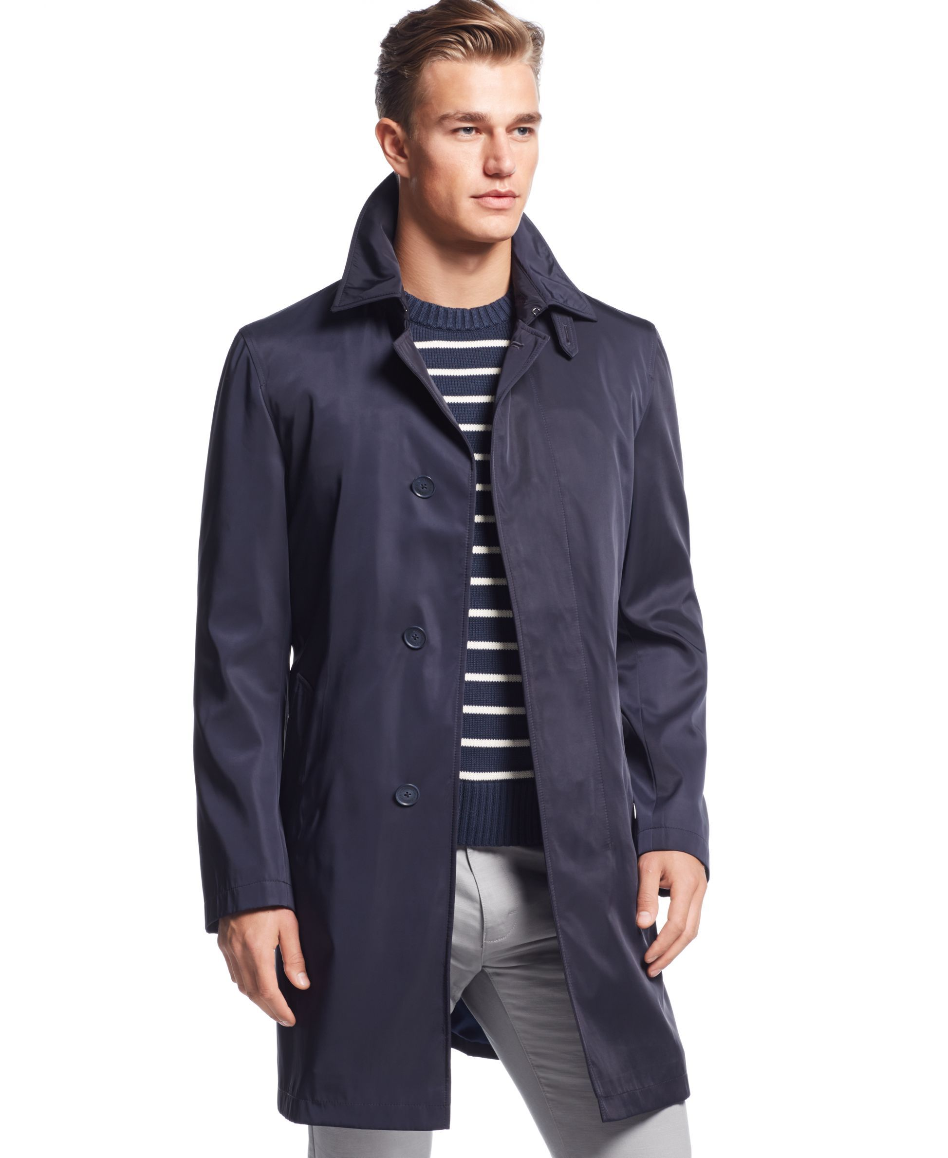 Calvin Klein Mail Extra Slim Fit Raincoat Coats Jackets Men Macy S Raincoat Calvin Klein Men Calvin Klein [ 2378 x 1947 Pixel ]