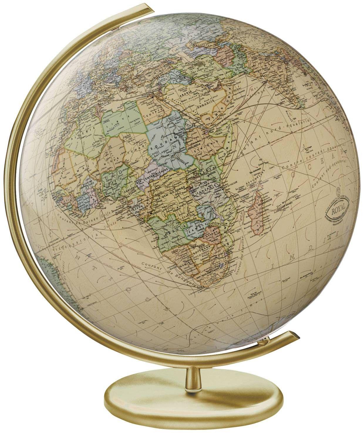 World Of Architecture 16 Simple Elegant And Affordable: Columbus Weimar Illuminated Glass Globe