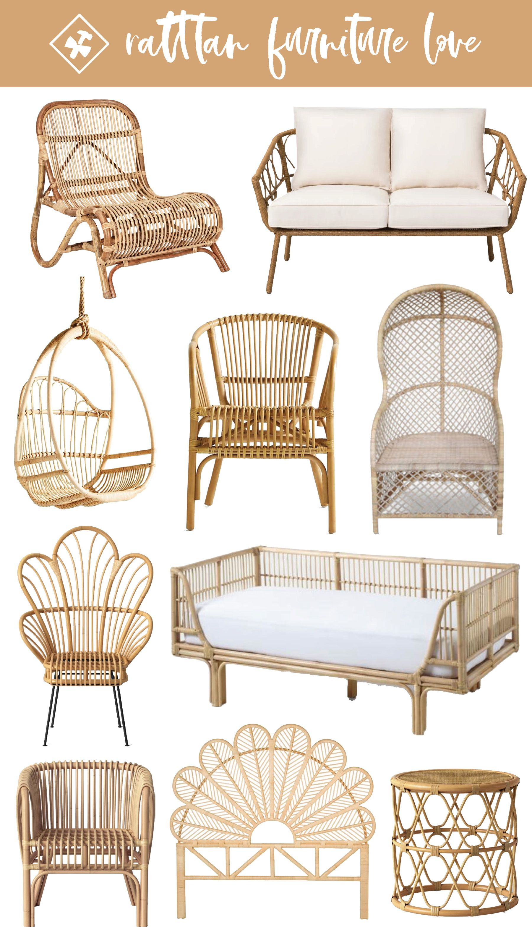 Rattan Furniture: Our 10 Favorites That Are Perfect For All Seasons